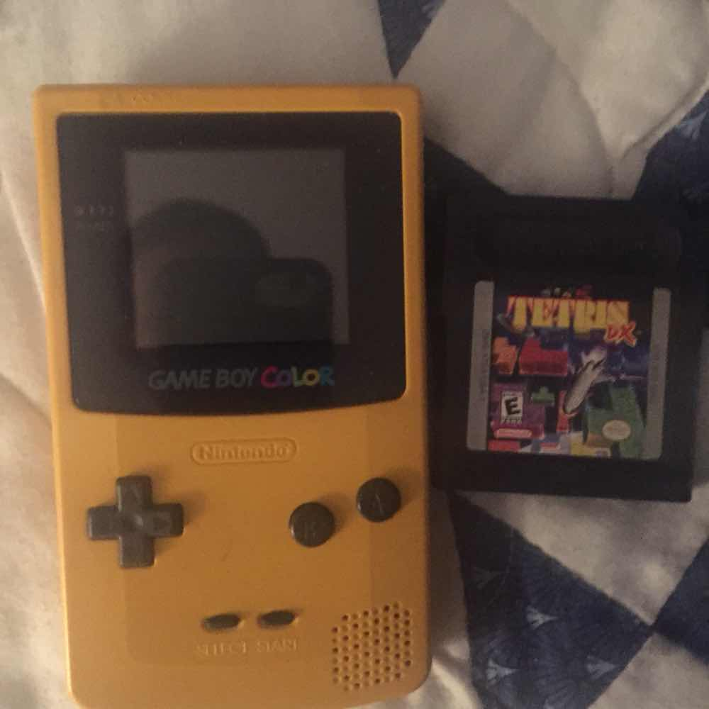 Gameboy color with Tetris dx - Nintendo DS Consoles (Good