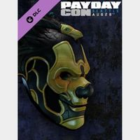 PAYDAY 2: PAYDAYCon 2015 Mask Steam Key GLOBAL