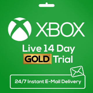 XBOX LIVE Gold 14 DayS 2 WEEKS Membership Code INSTANT DELIVERY