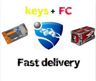 Bundle | 6x key + 6x Ferocity Crate[Instant Delivery]