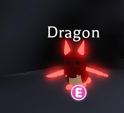 Pet Adopt Me Mega Neon Dragon In Game Items Gameflip