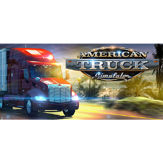 American Truck Simulator: Steam Key (Instant Delivery)