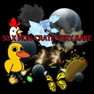 50 X Non-Crate Very Rare