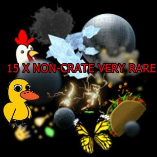 15 X Non-Crate Very Rare