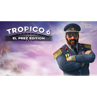 Tropico 6 El Prez Edition Steam Key Global Instant