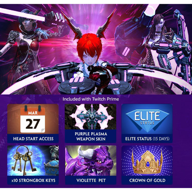 Tera Console Early Access & Twitch Prime Loot [Instant Code