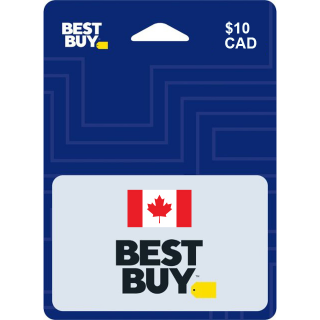 $10 CAD Best Buy Canada e-gift (Instant Delivery)