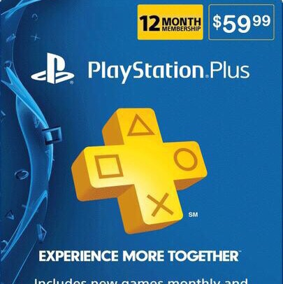 1 year playstation plus membership gift card code - auto delivery