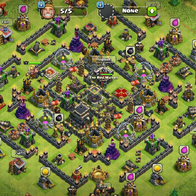 CLASH OF CLANS ACCOUNT (INSTANT DELIVERY) - Mobile Games
