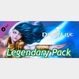 DrainLive - Legendary Pack DLC Steam key GLOBAL
