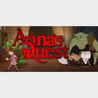 Anna's Quest STEAM KEY GLOBAL