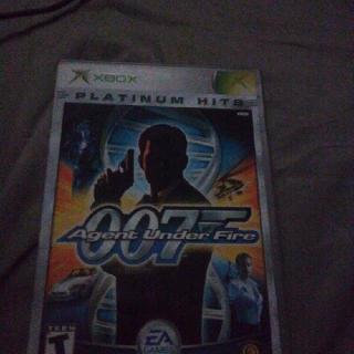 007 Agent Under Fire Xbox