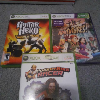 Xbox 360 3 Game Lot