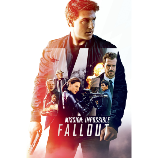 Mission: Impossible - Fallout 4K/UHD iTUNES ONLY (INSTANT)