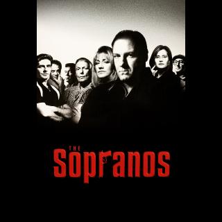 The Sopranos Complete Series Vudu