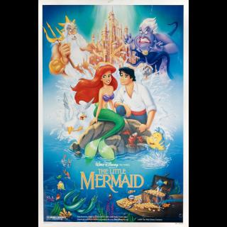 The Little Mermaid 4K/UHD Vudu/MA