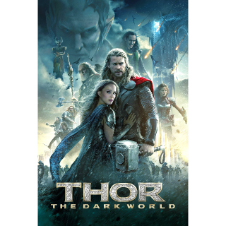 Thor: The Dark World (4K UHD) (VUDU) (Movies Anywhere) (FandangoNow)