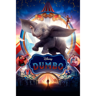 Dumbo (4K UHD) (VUDU) (Movies Anywhere) (FandangoNow) with DMR Points!!