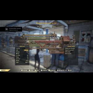 Weapon   Bloodied Explosive Gatling Laser