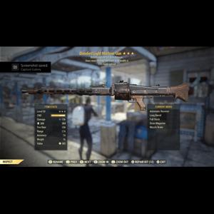 Weapon   Bloodied Explosive Light Machine Gun