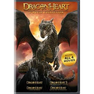 Dragonheart: 4-Movie Collection SD VUDU INSTAWATCH REDEEM