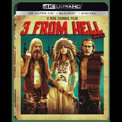 3 FROM HELL 4K Ultra HD VUDU INSTAWATCH!!!