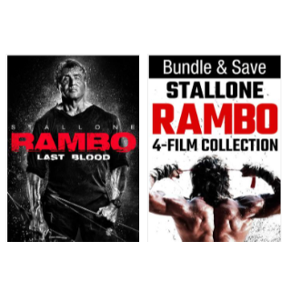 THE COMPLETE RAMBO COLLECTION HD VUDU INSTAWATCH
