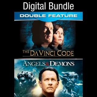 Angels & Demons / The Da Vinci Code  HD VUDU INSTAWATCH