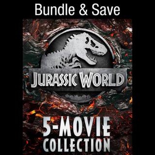Jurassic World 5-Movie Collection HD VUDU INSTAWATCH REDEEM