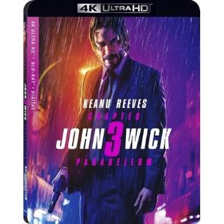 JOHN WICK 3 4K VUDU INSTAWATCH