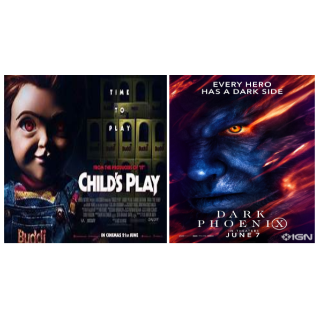 X MAN DARK PHOENIX & CHILD'S PLAY 2019 HD VUDU INSTAWATCH