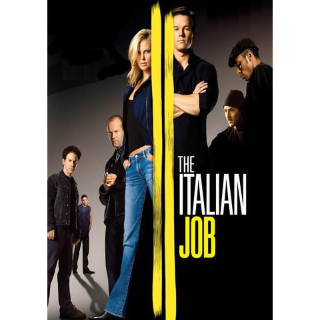 The Italian Job HD VUDU INSTAWATCH