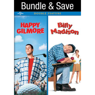 The Happy Gilmore / Billy Madison Collection  HD VUDU INSTAWATCH