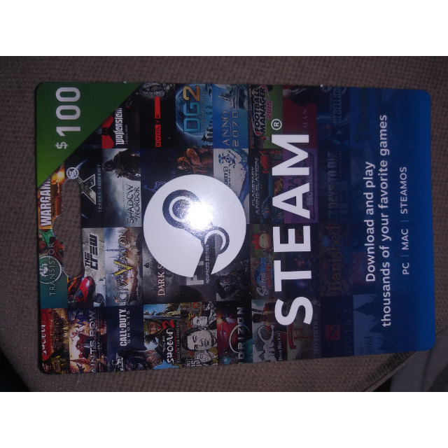 $100 00 Gift Card - Steam Gift Cards - Gameflip