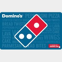 $25.00 Dominos Pizza INSTANT