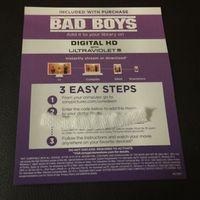 Bad Boys Digital HD Copy