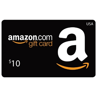 $10.00 Amazon.com Gift Card (USA)