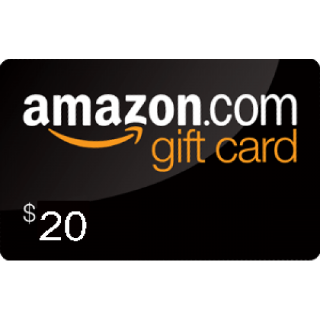$20.00 Amazon.com Gift Card (USA)