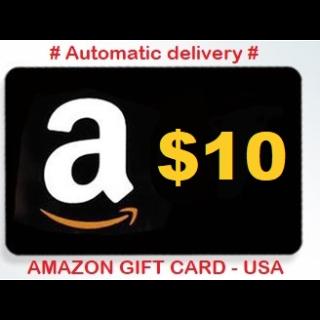 $10.00 Amazon.com Gift Card (US)