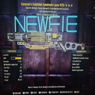 Weapon | AE1P Laser Rifle