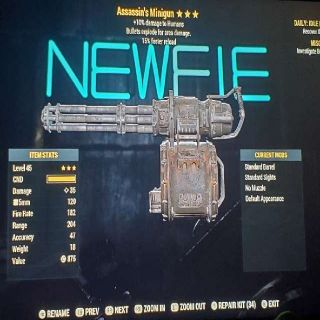 Weapon | AE15 Minigun