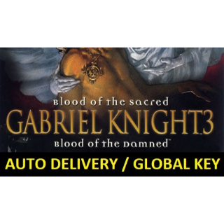 Gabriel Knight 3: Blood of the Sacred, Blood of the Damned (auto delivery)
