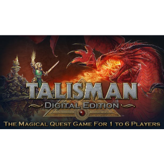 Talisman: Digital Edition + The Sacred Pool + The Harbinger + The Blood Moon Expansions DLC
