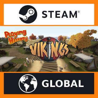 -75% Playing History 3 - Vikings   Steam Key GLOBAL   Instant Delivery