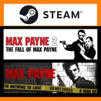 Max Payne 1 + 2 / Max Payne Bundle ⚡ INSTANT DELIVERY ⚡ Steam Key