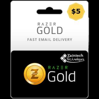 $5.00 Razer USD INSTANT DELIVERY