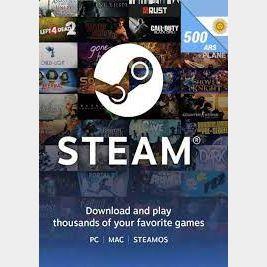 Steam Wallet Code 500 AR ARS