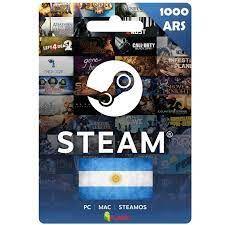 Steam Wallet Code 1000 AR ARS