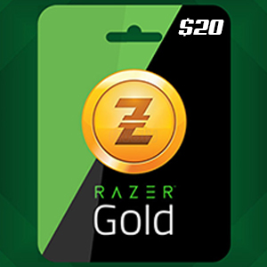 Razer Gold $20.00 USD Global INSTANT DELIVERY