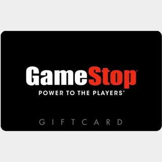 $25.00 GameStop Auto delivery US only